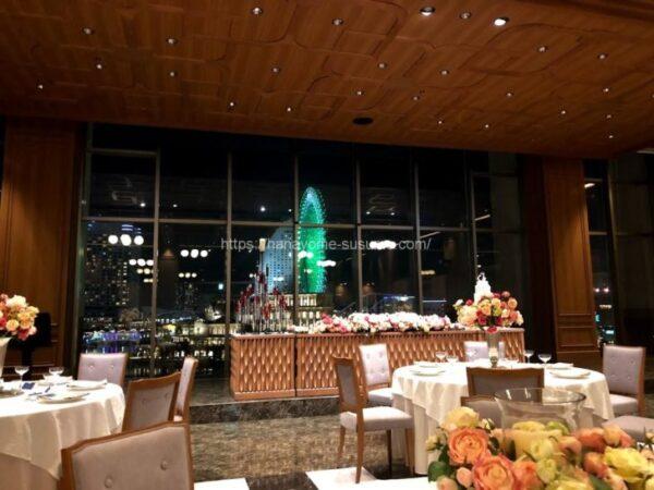 ノートルダム横浜みなとみらいの披露宴会場「THE CLUB」の全体イメージ