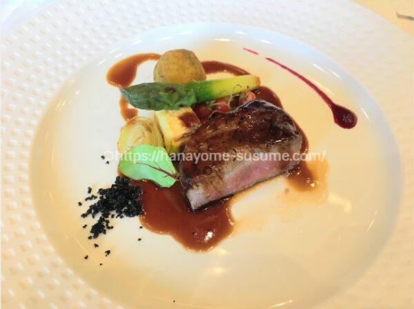 ノートルダム横浜みなとみらいの披露宴会場の婚礼料理・お肉料理