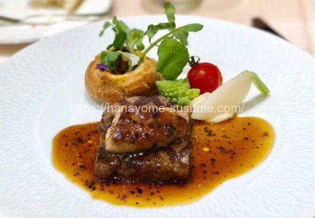 アニヴェルセルみなとみらい横浜のお肉料理