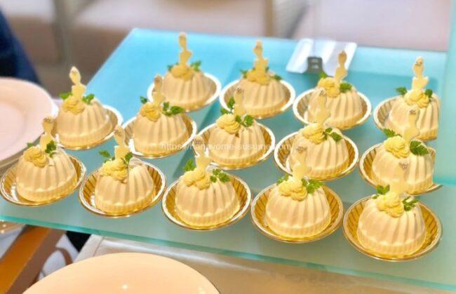 アニヴェルセルみなとみらい横浜のスペシャルデザートビュッフェで提供されるケーキ