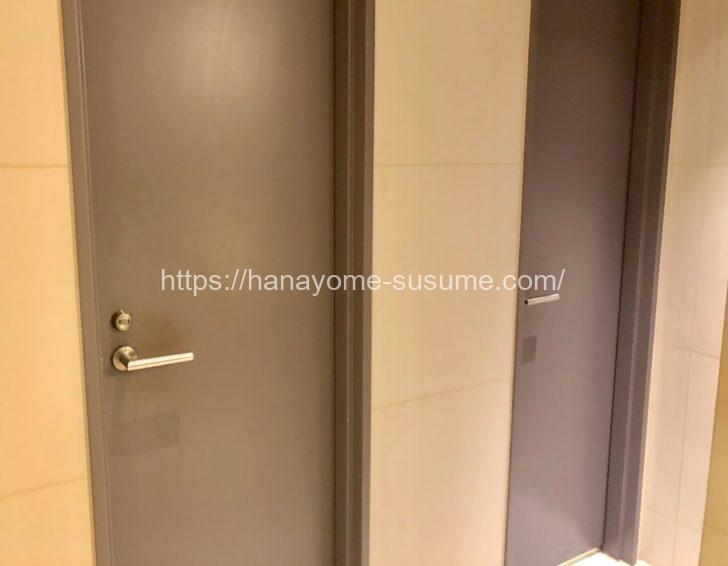 セント・ラファエロチャペル横浜の女子トイレ