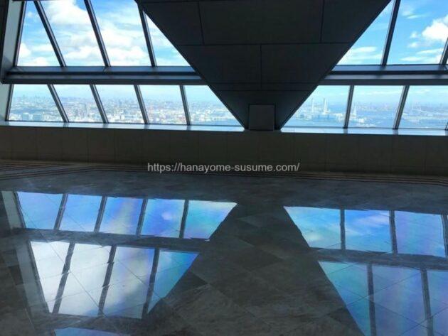 横浜ロイヤルパークホテルのフィットネスジムエントランス