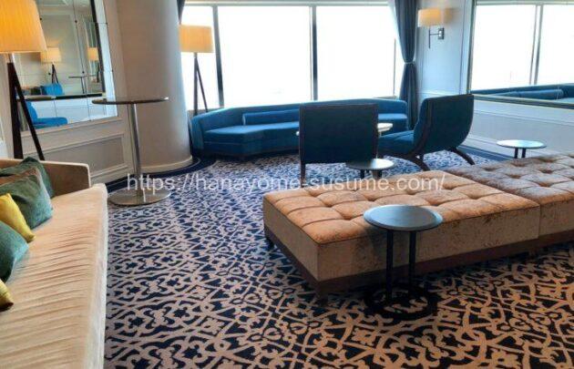 横浜ロイヤルパークホテルの披露宴会場「レインボー・オーロラ」使用時のゲスト控室