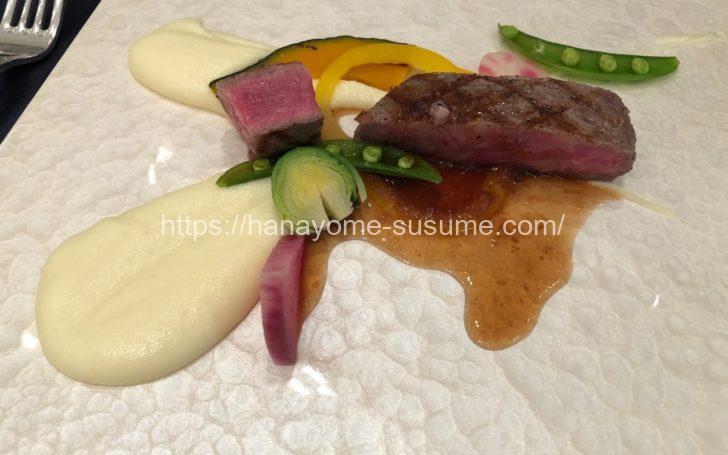 セントラファエロチャペル横浜のお肉料理