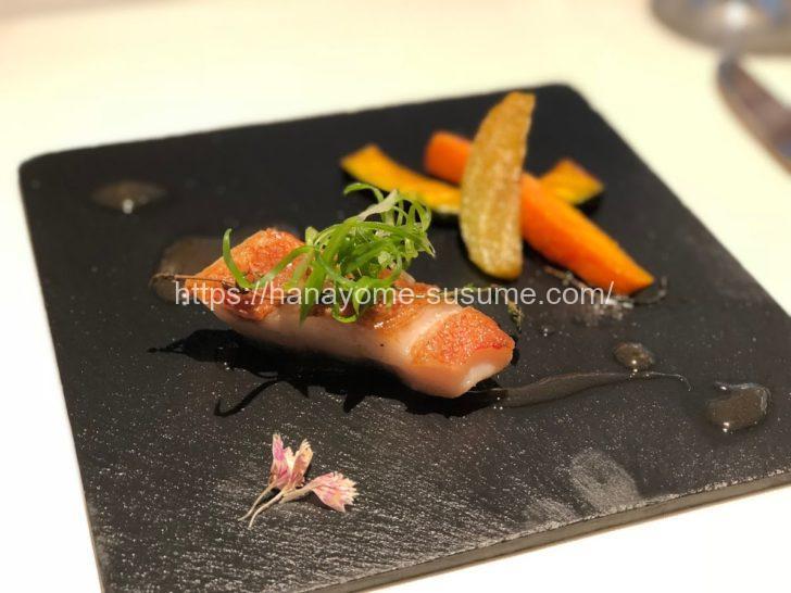 ホテル横浜ガーデンの魚料理