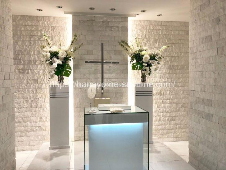 ブリーズベイホテルのチャペルの祭壇