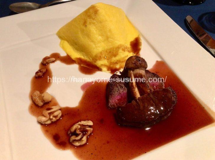 ブリーズベイホテルのお肉料理