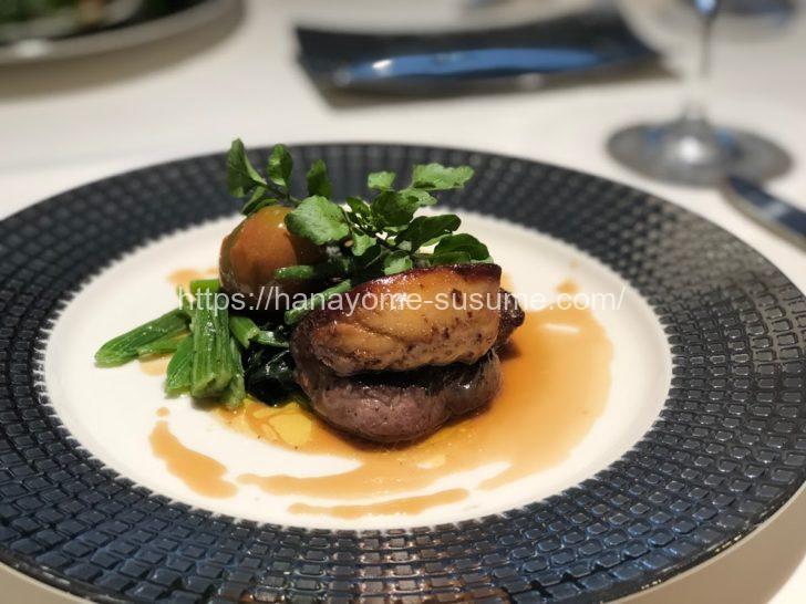ホテル横浜ガーデンのお肉料理