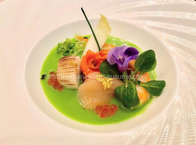 横浜ロイヤルパークホテルの海と彩り野菜の宝石箱