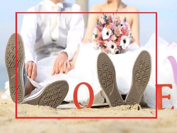 結婚式のムービーでセーフティーゾーンが80%の場合のイメージ