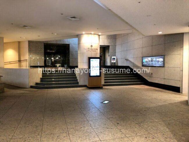 横浜ベイホテル東急のみなとみらい駅直通入口